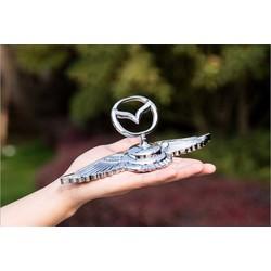 Logo cánh chim 3D dán capo xe ô tô cao cấp LG08