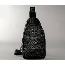 Túi đeo chéo da cá sấu cao cấp Lux 32