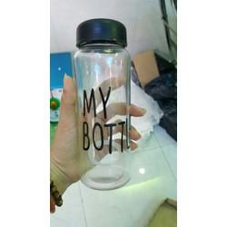 bình bottle thủy tinh