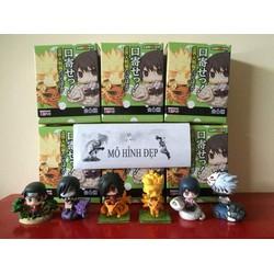 Bộ mô hình Naruto chibi - thú triệu hồi -6 con