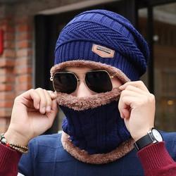 Bộ mũ kèm khăn len