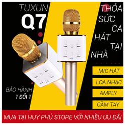 loa kem mic karaoke q7