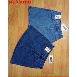 Chân váy jean phom xòe sành điệu và thời trang CVJ103