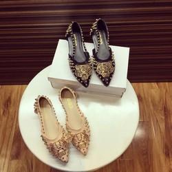 giày Bệt Kenzo đinh tán cực chất