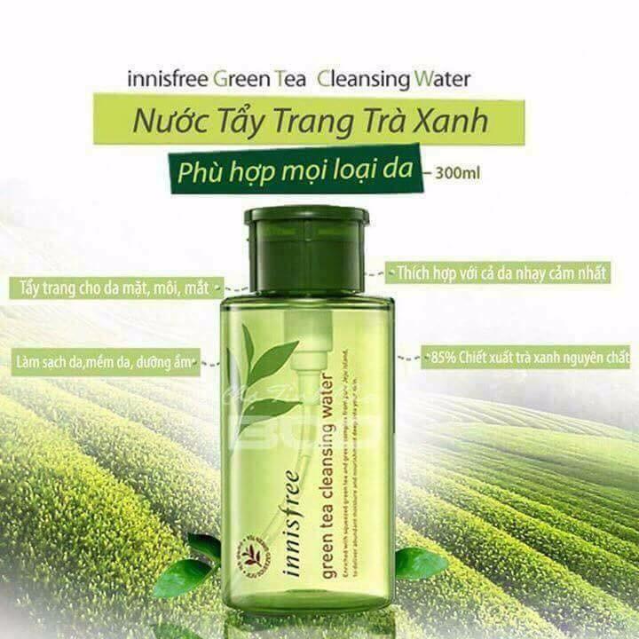Nước Tẩy Trang Innisfree Green Tea Pure Cleansing Water 15