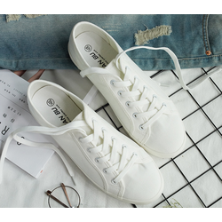 giày cặp nam nữ vải cao cấp 2 màu đen ,trắng