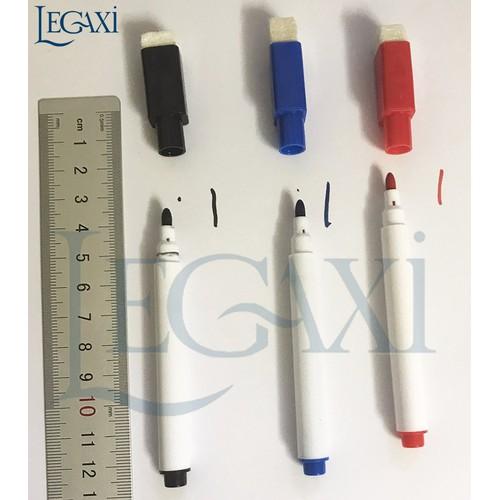 4 bút viết bảng kèm tẩy 3 màu
