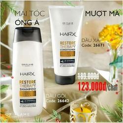 Bộ sản phẩm chăm sóc tóc hư tổn