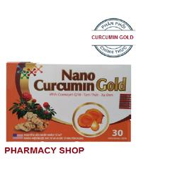NANO CURCUMIN GOLD - HỔ TRỢ ĐIỀU TRỊ DẠ DÀY NGỪA HP - NGỪA UNG THƯ