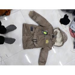 áo khoác kaki cho bé gái từ 4-10 tuổi