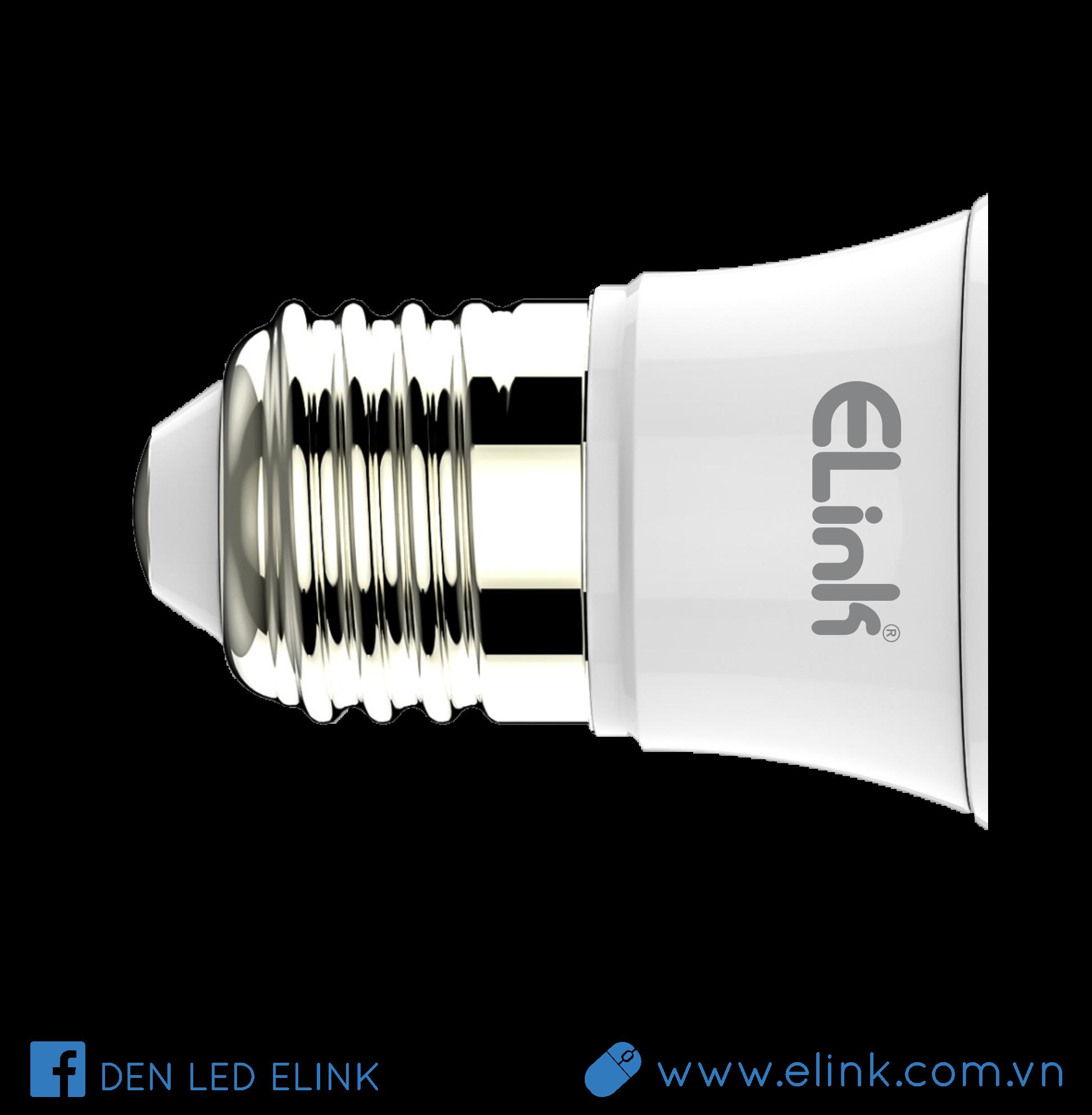 Bóng Đèn LED Búp Elink 3W - AS Vàng - EBB-A-3V