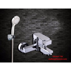 Full bộ sen tắm bao gồm cả dây và bát sen 5 chế độ nước SNL902-VHS01