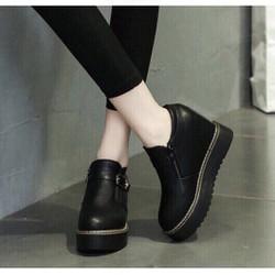 Giày bốt nữ cổ ngắn hàng xịn