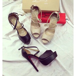 Giày sandal cao gót nhọn 12cm