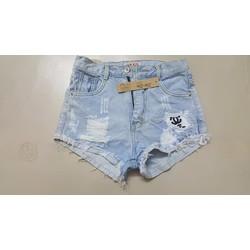 Sale quần short lưng cao