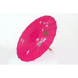 Dù cán gỗ Nhật Bản Màu Hồng Đậm cung cấp bởi Winwinshop88