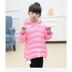 Áo khoác bé gái siêu đẹp Size đại 20-45 kg