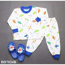 Quần áo trẻ em - đồ bộ bé trai dài tay
