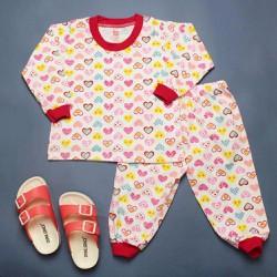Quần áo trẻ em - đồ bộ bé gái dài tay
