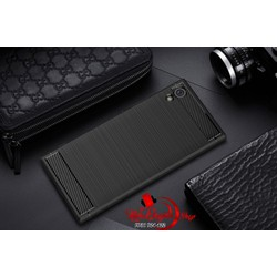 Ốp lưng Sony Xperia XA1 Plus chống sốc vân carbon