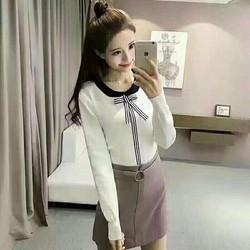 Áo kiểu len nữ thời trang, kiểu dáng xinh xắn