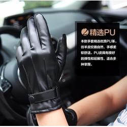Găng tay da cao cấp cho nam giới