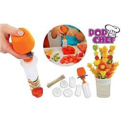 Dụng cụ ấn trái cây đa năng - Pop chef, Push, Pop and Eat