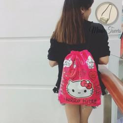 balo dây rút kitty cute, cực kỳ dễ thương, giá rẻ