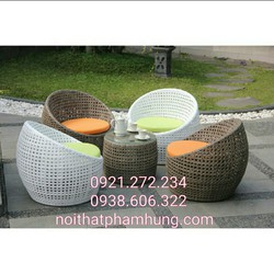 bàn ghế trứng giá rẻ