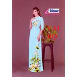 Vải May Áo Dài Đẹp Ở Hà Nội - Làm Qùa 20-11- Chất Tơ Ý,mềm,rủ