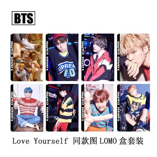 Bộ 30 ảnh Lomo card BTS Mới Nhất Đủ Loại