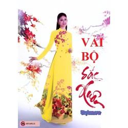 Vải May Áo Dài Đẹp Ở Sài Gòn - Làm Qùa 20-11- Chất lụa Nhật,mềm,rủ