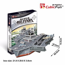 Mô Hình Giấy 3D - Tàu Sân Bay