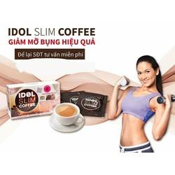 Giảm Cân Cafe Idol Slim Coffee Thái Lan tan mỡ bụng tự nhiên