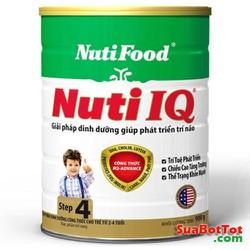 Nuti Step 4 và Step 3 lon 900g