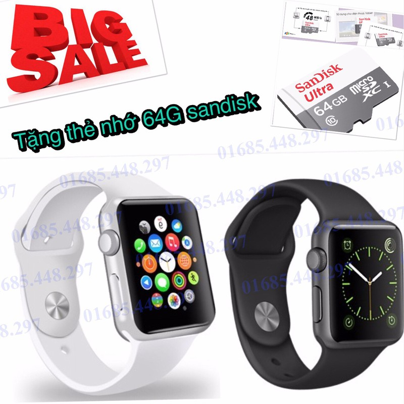 Đồng hồ thông minh A1+ thẻ 64GB 5