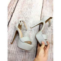 Giày sandal cao gót, cao 12 cm