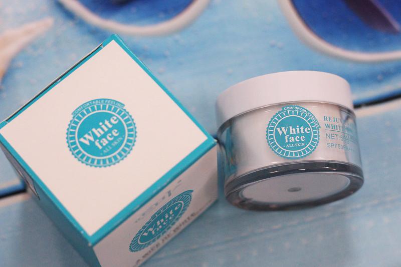 Kem dưỡng trắng da chống nắng White Face SPF50 2