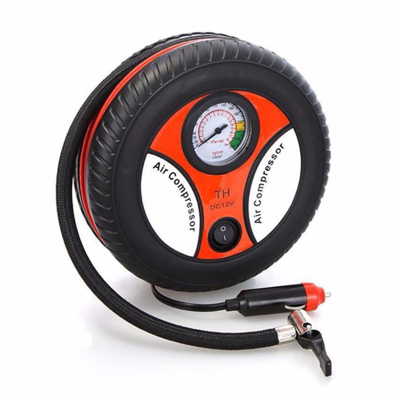 Máy bơm lốp điện bánh xe ô tô, xe máy, bể phao, bóng... tiện ích 2