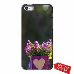 Ốp lưng nhựa dẻo Iphone 5C_Giỏ Hoa Tình Yêu