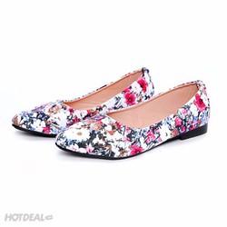 Giày Búp Bê Hoa Nữ Khải Nam - Bảo Hành 6 Tháng