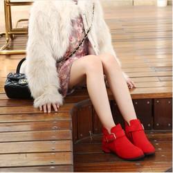 B07DO  -  Giày boot cho bé phong cách hàn quốc