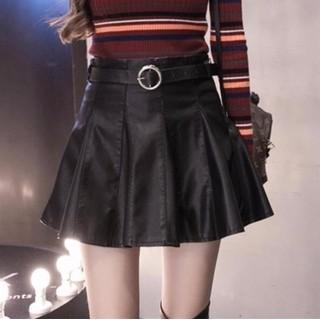 Chân váy xòe da nữ size S đến 2XL - giá 400k - 7149 - 7149 thumbnail