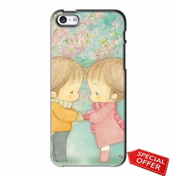Ốp lưng Iphone 5C_Ốp lưng nhựa dẻo Iphone 5C_Baby Lovely