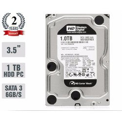 Ổ Cứng Gắn Trong PC HDD Western Digital  Black 1TB SATA 6Gb.s