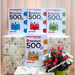Sách Nihongo 500 câu hỏi - trọn bộ 4 cuốn