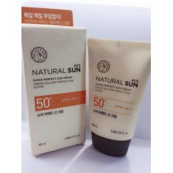 Kem chống nắng Natural Sun Eco Super Perfect Sun Cream
