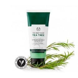 Tẩy da chết mặt THE BODY SHOP Tea Tree chiết xuất lá tràm trà 100ml