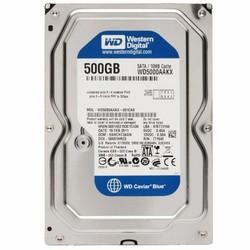 Ổ Cứng Western HDD WD Caviar Blue 500GB 16M 7200RMP
