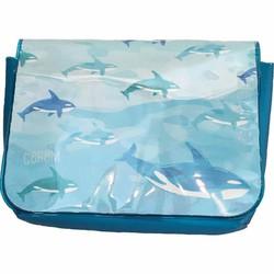 Túi đa năng đựng đồ cho bé Nhật Bản cá heo xanh